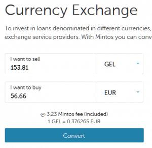 Und alles zurück in Euro