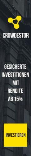 Crowdestor gesicherte Investitionen
