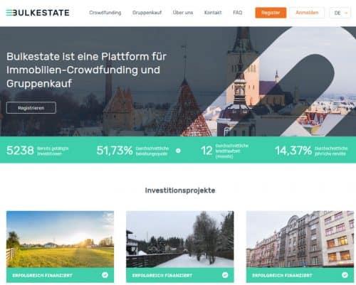 Startseite Bulkestate Immobilien Crowdinvesting