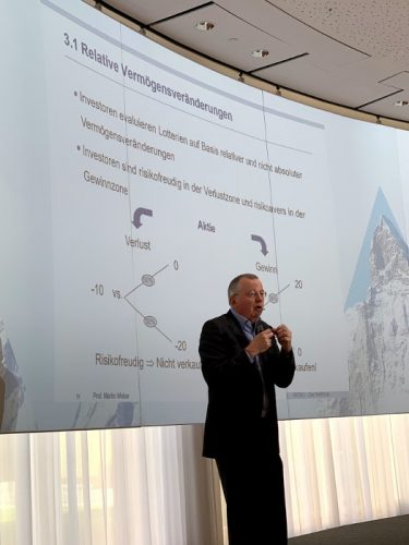 Martin Weber über die Manipulierbarkeit - Kapital-Gifpel