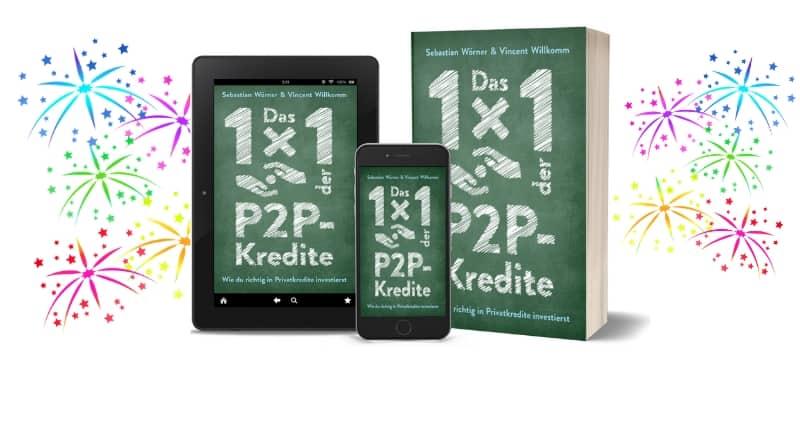 P2P Buch Das 1x1 der P2P-Kredite - Wie du richtig in Privatkredite investierst