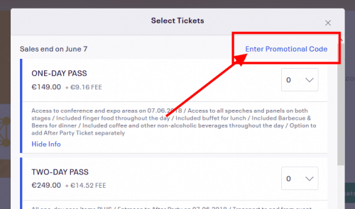 P2PConference Ticket Discount