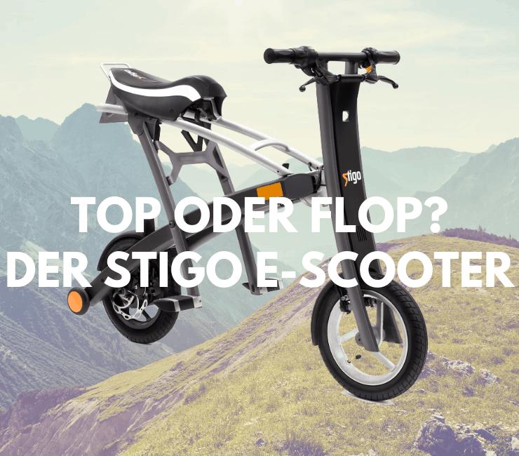 Der Stigo E-Scooter im Test
