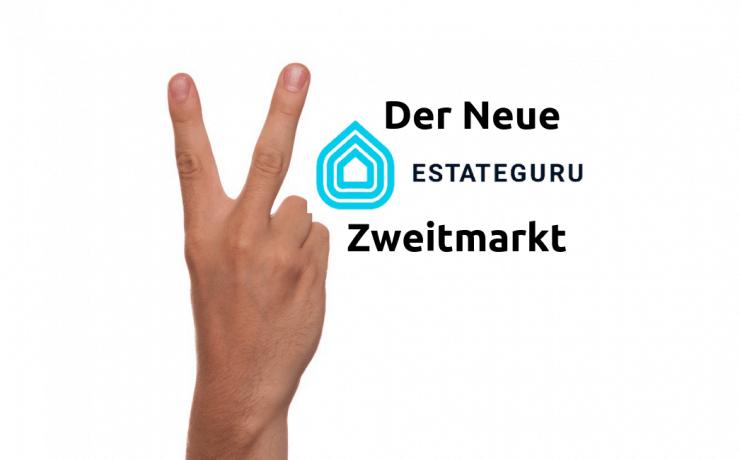 Der neue Zweitmarkt von Estateguru - Secondarymarket