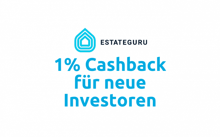 EstateGuru Cashback Aktion im Oktober