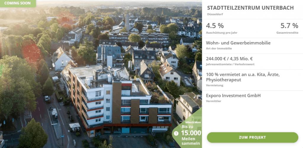 Stadtteilzentrum-Unterbach-Exporo-Bestand