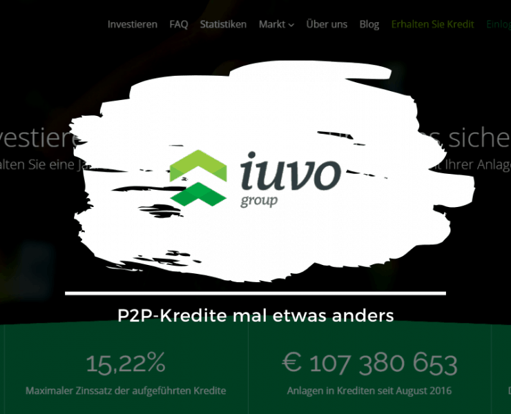 Iuvo Group - P2P Kredite mal anders