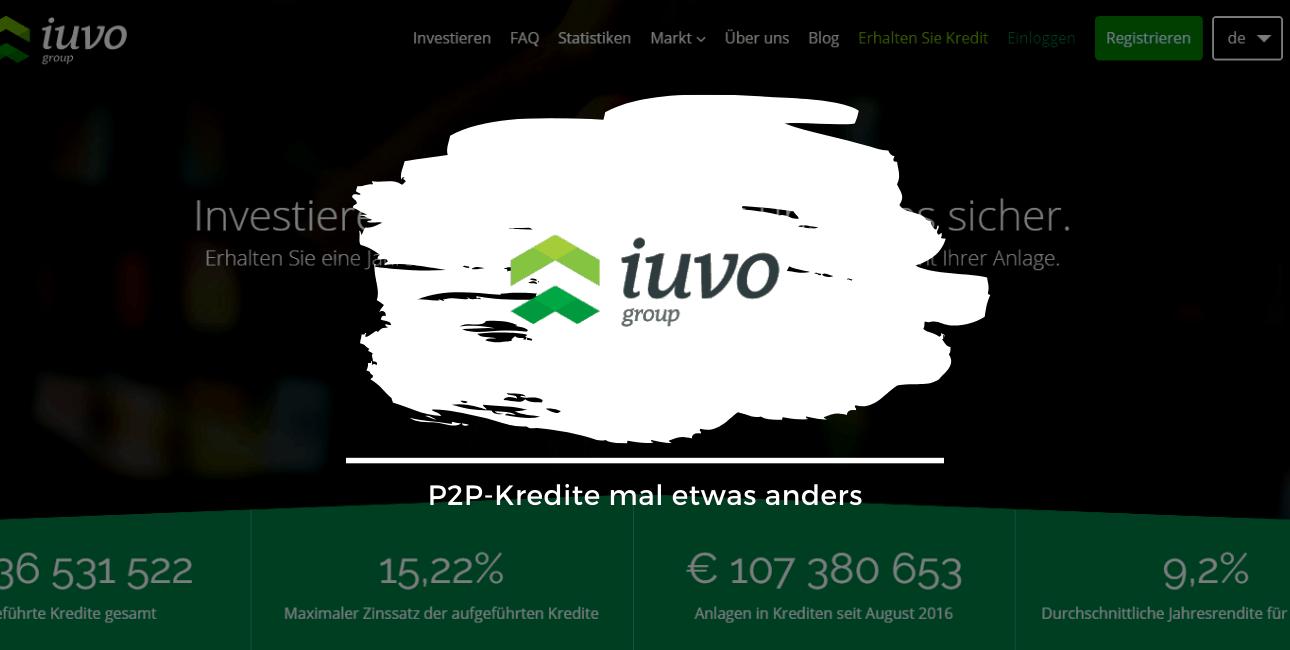 Iuvo Group - P2P Kredite mal anders