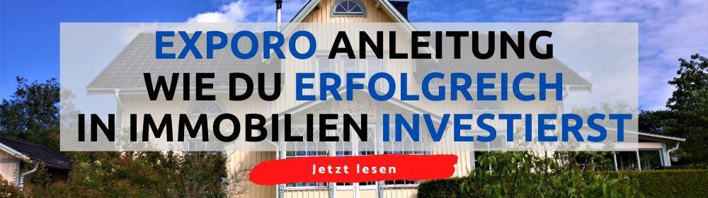 Wie du bei Exporo richtig in Immobilien investierst