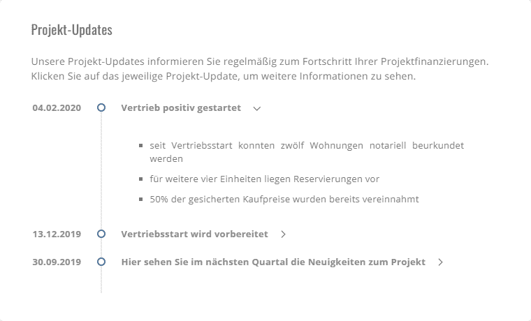 Projekt-Updates