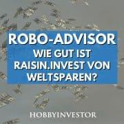 Der ETF Robo-Advisor raisin invest von weltsparen