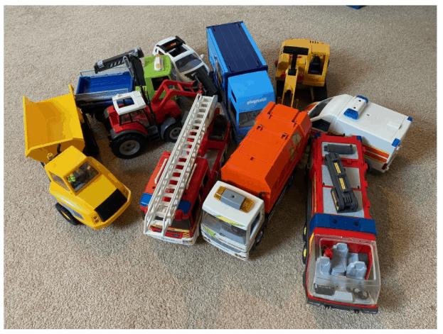 Unser Playmobil Fuhrpark - Geschenke für Kinder