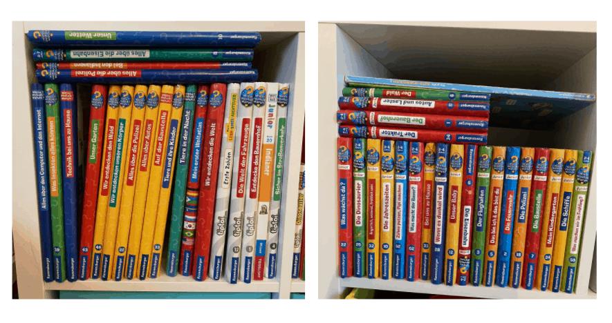 Geschenke für Kinder - Die Wieso? Weshalb? Warum? Bücher werden von uns gesammelt